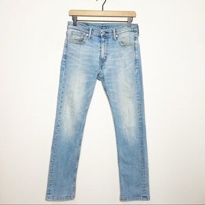 Levi's Jeans - Levi's Light Wash 513 Slim Straight Leg Jeans